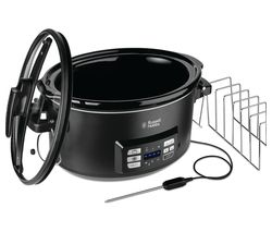 RUSSELL HOBBS Sous Vide Slow Cooker - Black Best Price, Cheapest Prices
