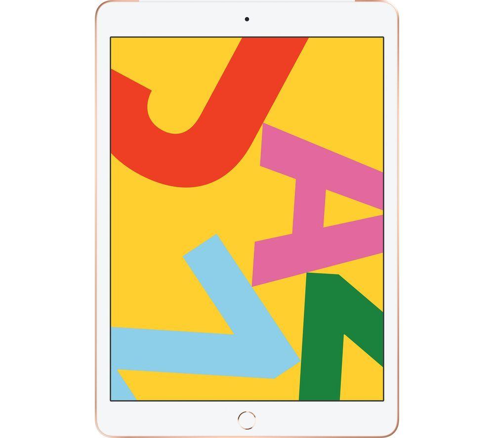 "APPLE 10.2"" iPad Cellular (2019) - 128 GB, Gold"