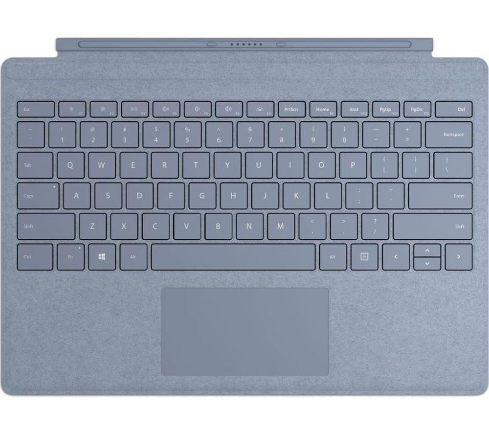 MICROSOFT Surface Pro Typecover - Alcantara Ice Blue