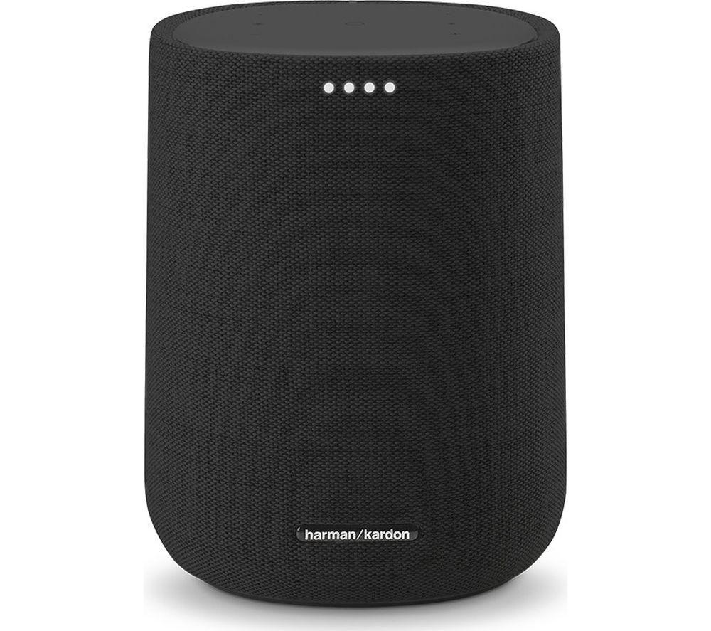 Image of HARMAN KARDON Citation One Bluetooth Multi-room Speaker with Google Assistant - Black, Black