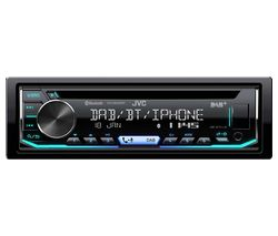 JVC KD DB902BT CD Car Receiver - Black