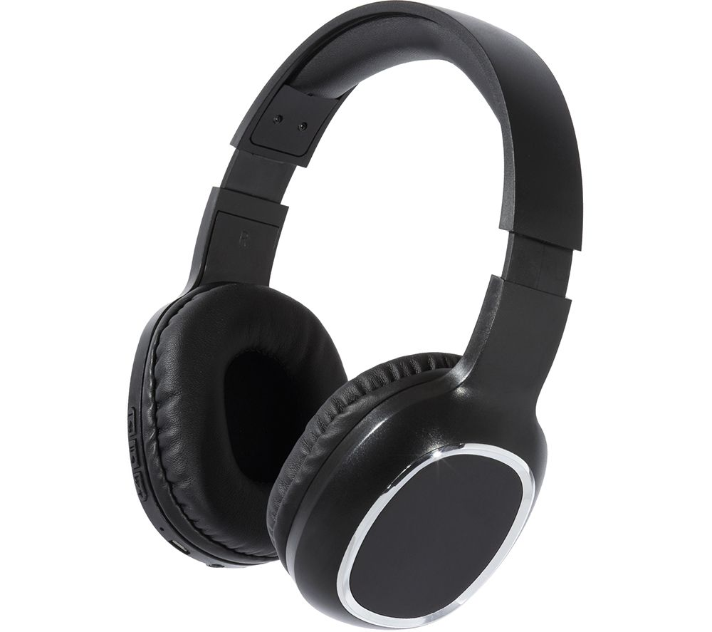 DAEWOO AVS1404 Wireless Bluetooth Headphones - Black