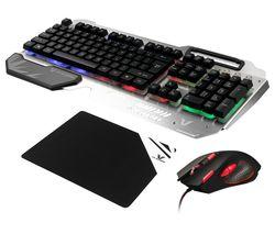 VX Combat Combo Series Gaming Keyboard, Mouse & Mouse Mat Bundle