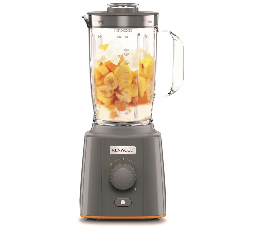 KENWOOD BLP41.A0GO Blend X Compact Blender - Grey & Orange