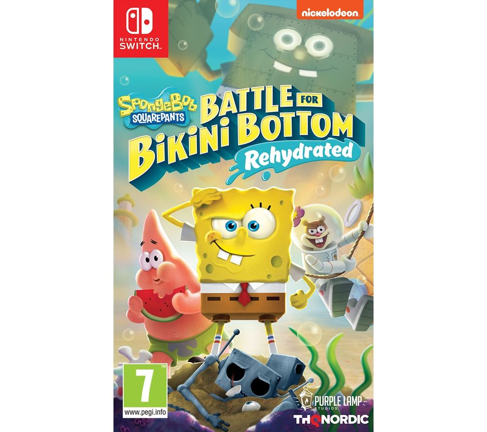 NINTENDO SWITCH Spongebob Squarepants: Battle for Bikini Bottom Rehydrated