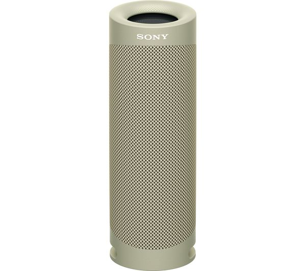 Image of SONY SRS-XB23 Portable Bluetooth Speaker - Taupe