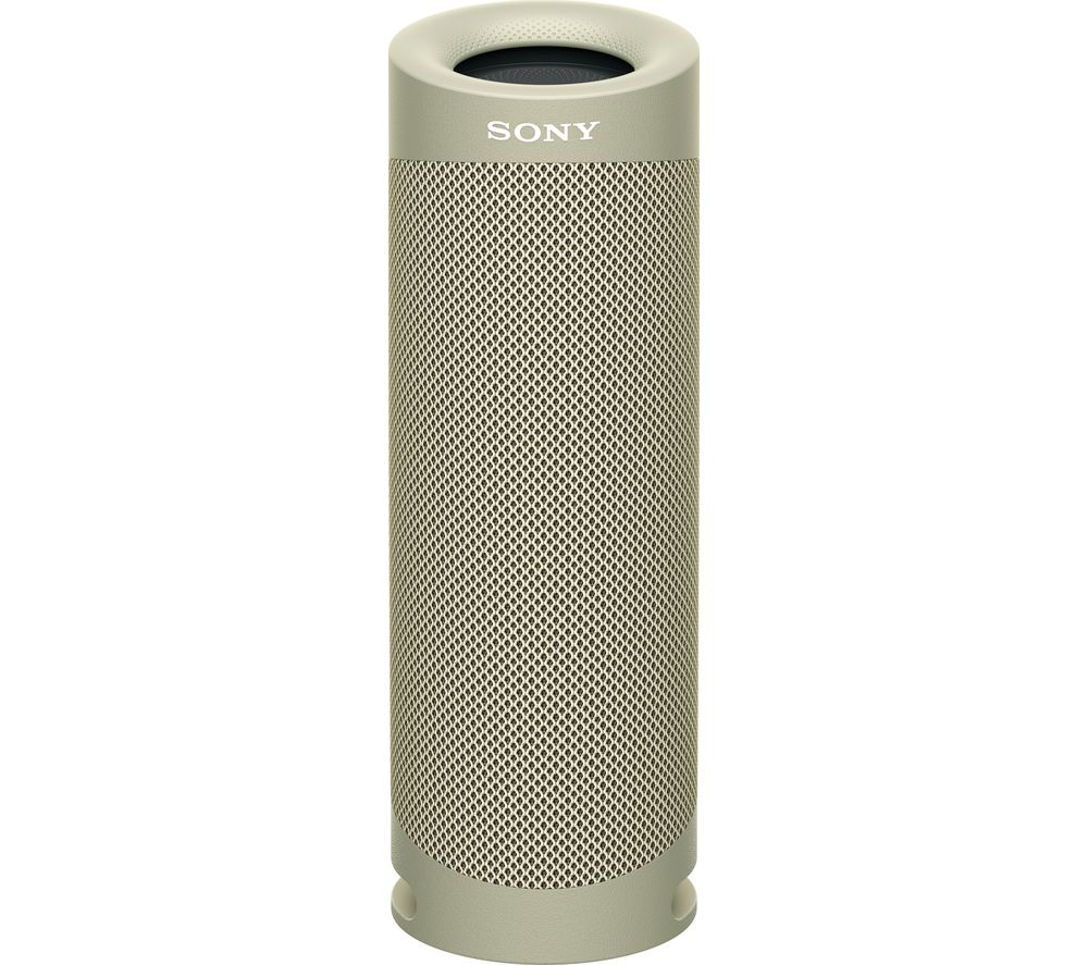 Image of SONY SRS-XB23 Portable Bluetooth Speaker - Taupe, Taupe