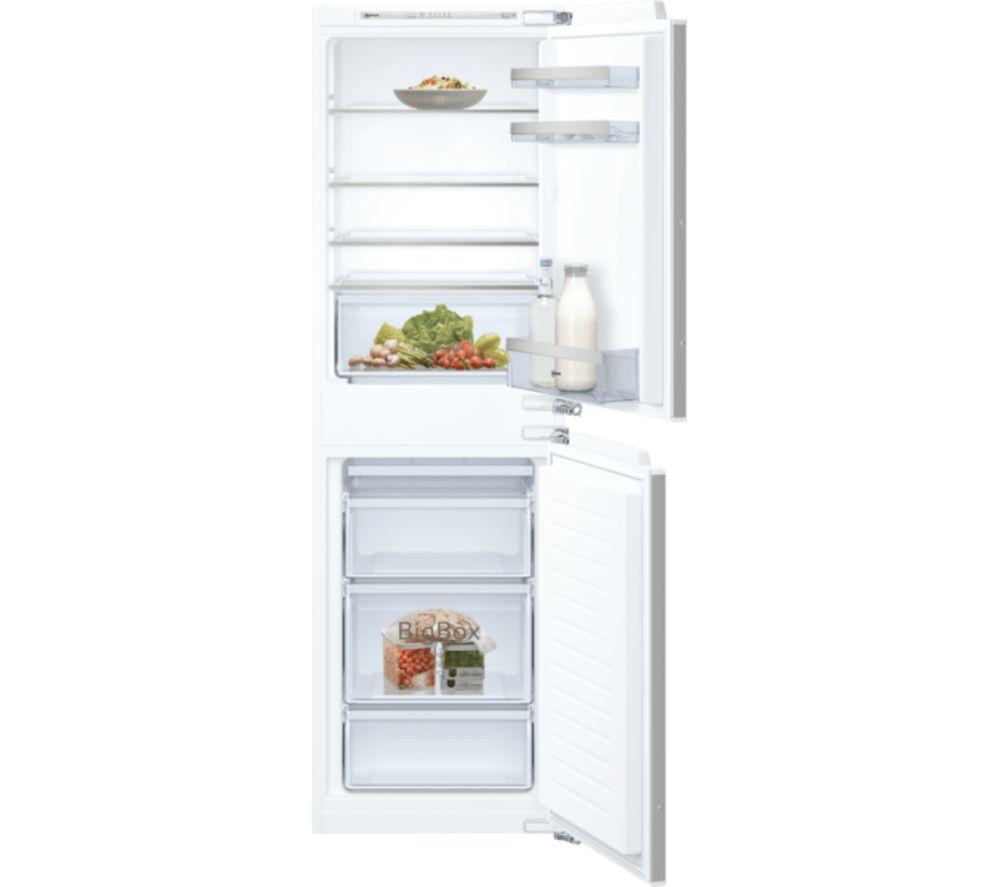NEFF N50 KI5852FF0G Integrated 50/50 Fridge Freezer - Fixed Hinge