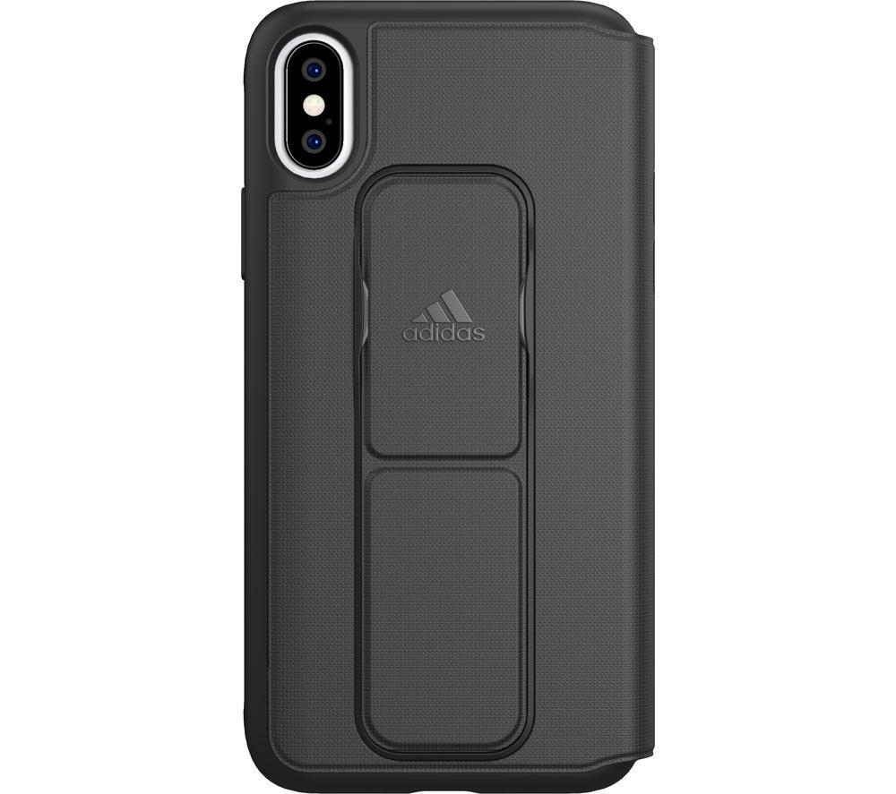 ADIDAS iPhone X / XS SP Folio Grip Case - Black, Black