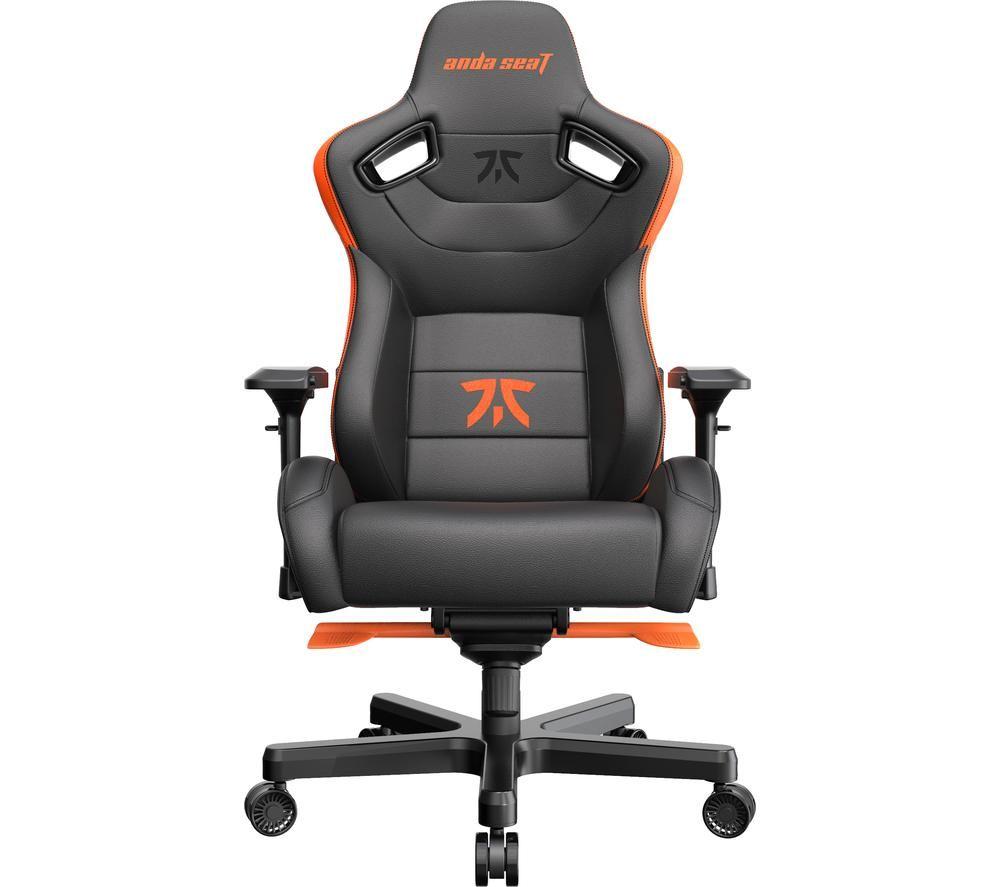 ANDASEAT Fnatic Edition Gaming Chair - Black & Orange