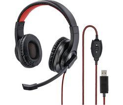 HS-USB400 Headset - Black
