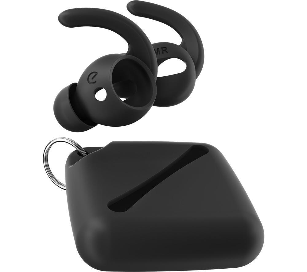 KEYBUDZ EarBuddyz Ultra AirPods Earhooks - Black, Black