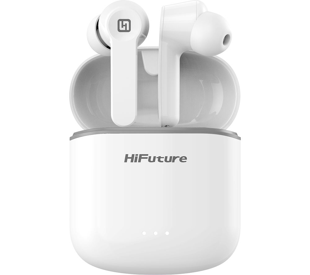 HIFUTURE FlyBuds Wireless Bluetooth Earbuds - White