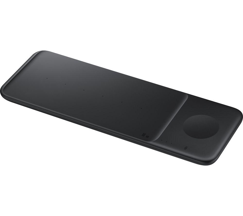 SAMSUNG EP-P6300 Qi Wireless Trio Charging Pad - Black