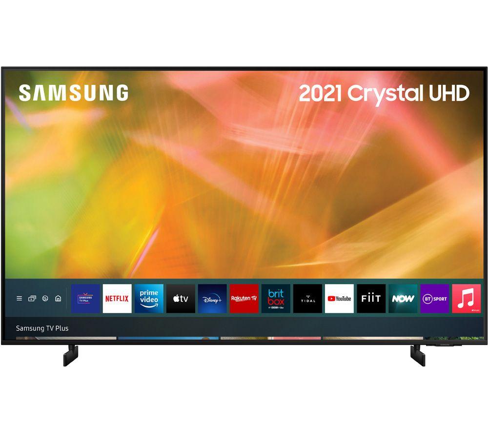 "SAMSUNG UE85AU8000KXXU 85"" Smart 4K Ultra HD HDR LED TV with Bixby, Alexa & Google Assistant"