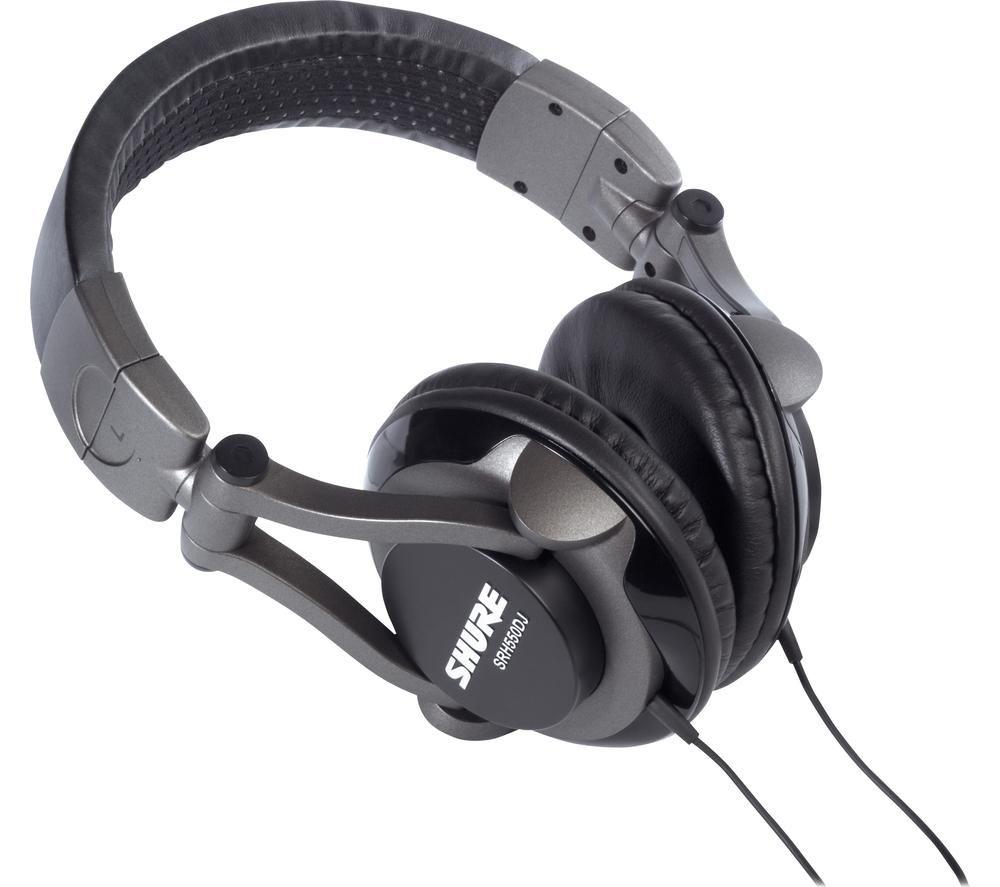 SHURE SRH550DJ Closed-Back DJ Headphones