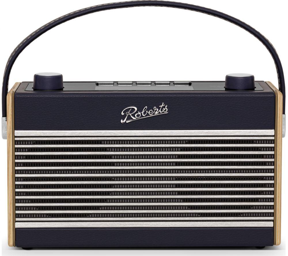 ROBERTS Rambler BT Portable DAB+/FM Retro Bluetooth Radio - Navy Blue