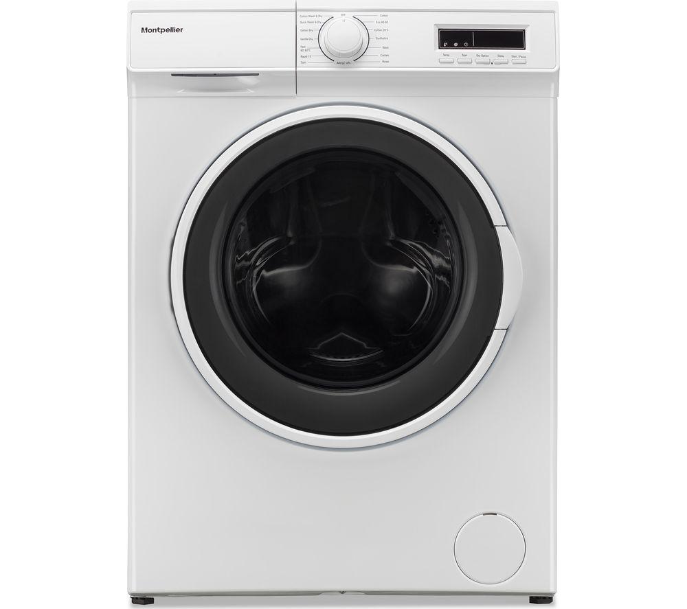 MONTPELLIER MWD7515W 7 kg Washer Dryer - White, White