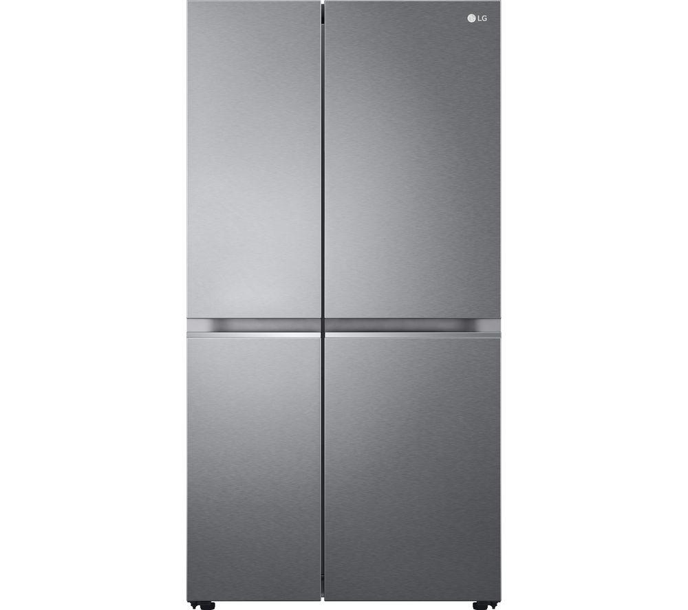 LG NatureFRESH GSBV70DSTF American-Style Fridge Freezer – Dark Graphite, Graphite