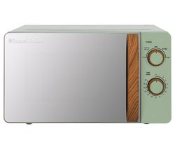 Scandi RHMM713MG-N Compact Solo Microwave - Green
