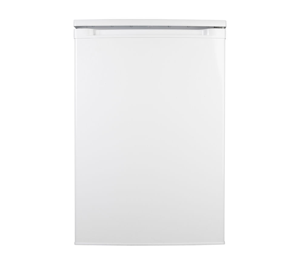 ESSENTIALS CUL55W12 Undercounter Fridge - White + Select DSX83410W Heat Pump Tumble Dryer - White