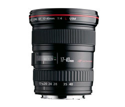 EF 17-40 mm f/4L USM Wide-Angle Zoom Lens