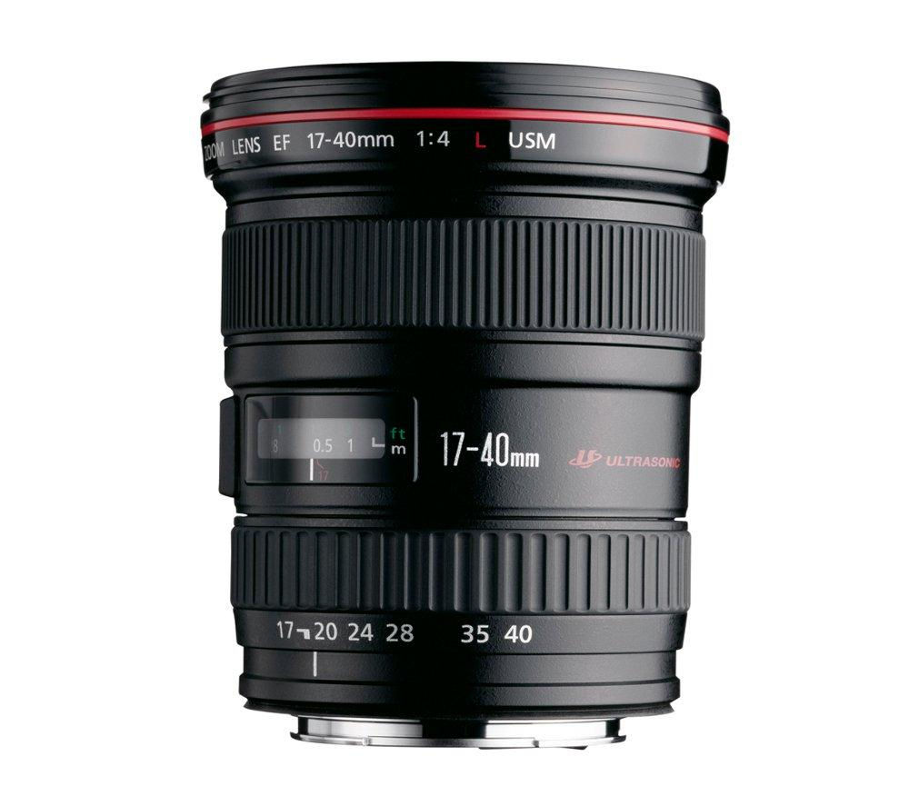 CANON EF 17-40mm f/4L USM Ultra Wide-Angle Zoom Lens