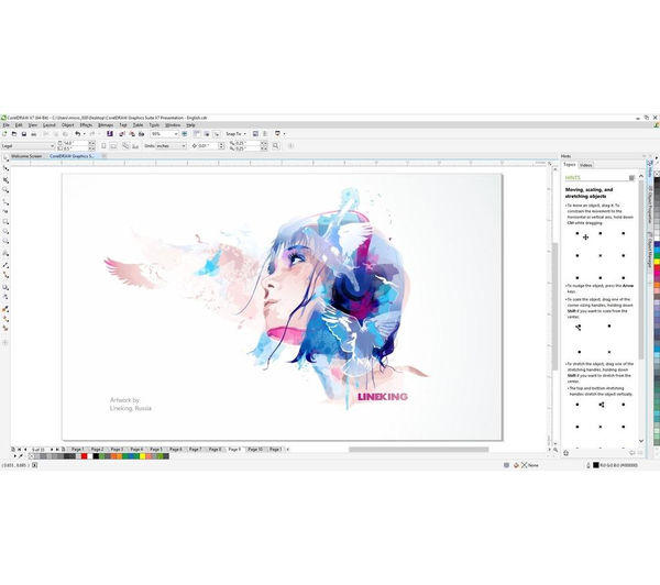 corel draw x7 system requirements