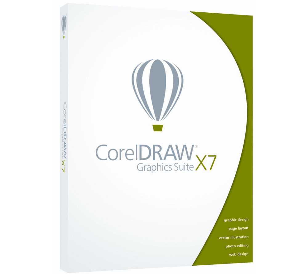 COREL DRAW Graphics Suite X7