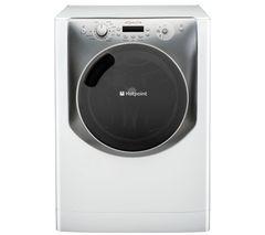 HOTPOINT Aqualtis AQ113F497E Washing Machine - White & Tungsten