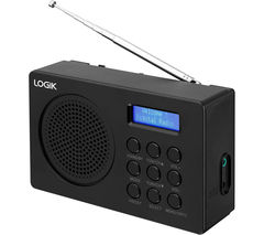 L2DAB16 Portable DAB/FM Radio - Black