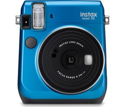 INSTAX Mini 70 Instant Camera - Blue