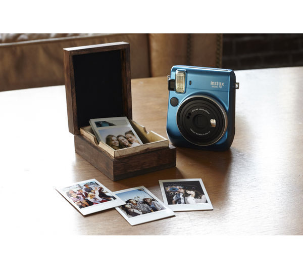 Buy Instax Mini 70 Instant Camera Blue Free Delivery