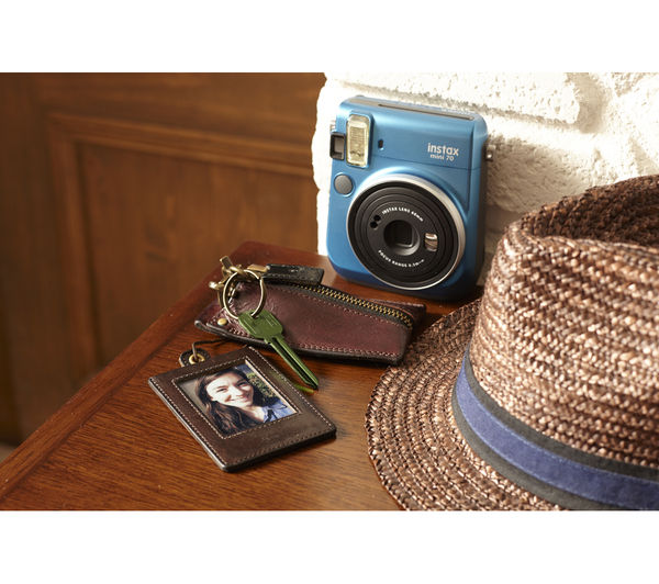 Buy instax mini 70 instant camera blue free delivery for Housse instax mini 70