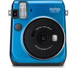 INSTAX Mini 70 Instant Camera - Blue