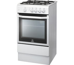 INDESIT I5GGW 50 cm Gas Cooker - White