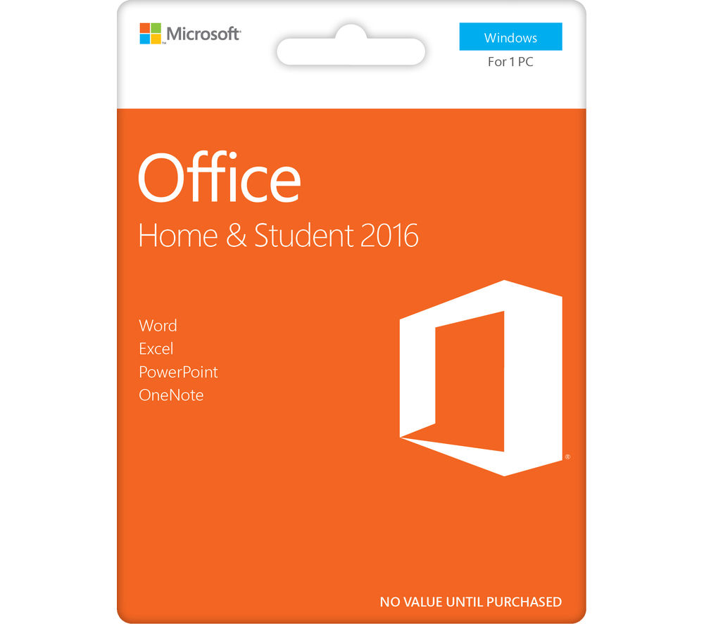 Buy MICROSOFT Office Home & Student