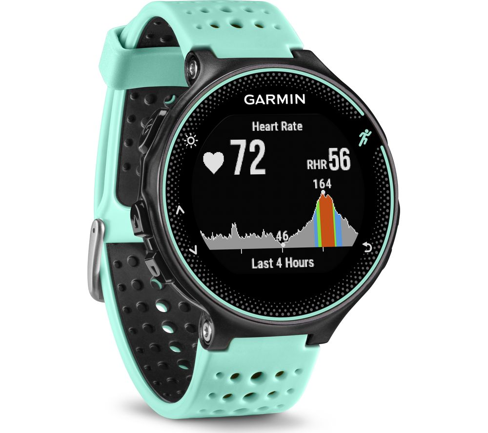 buy garmin forerunner 235 frost blue black free delivery currys. Black Bedroom Furniture Sets. Home Design Ideas