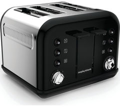 MORPHY RICHARDS Accents 242031 4-Slice Toaster - Black