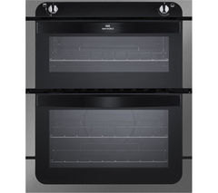NEW WORLD NW701G Gas Built-under Oven - Black & Stainless Steel