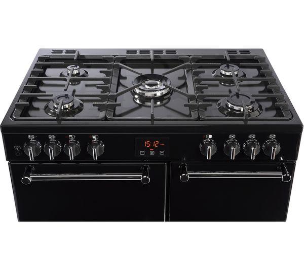 Verwonderlijk Buy BELLING Kensington 90DFT 90 cm Dual Fuel Range Cooker - Black WK-81
