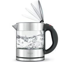 SAGE Compact Pure BKE395UK Jug Kettle - Stainless Steel & Glass