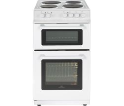 NEW WORLD 50ET 50 cm Electric Cooker - White Best Price, Cheapest Prices