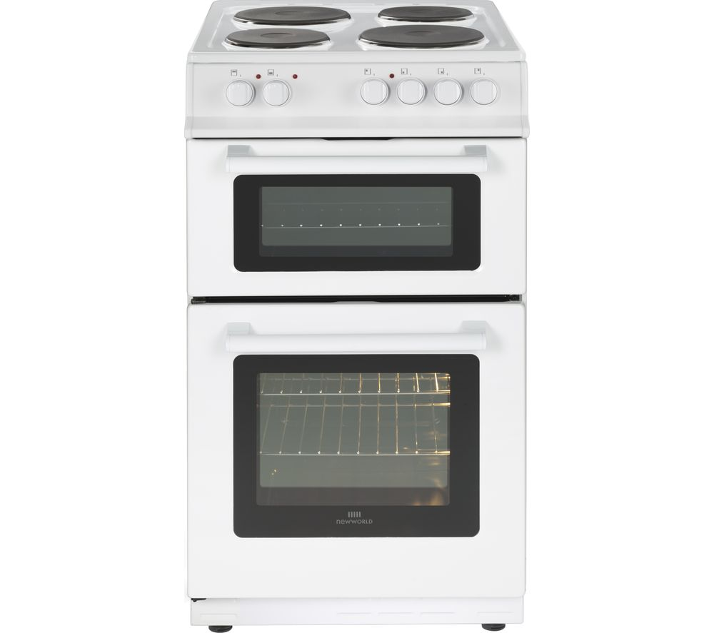 Image of NEW WORLD 50ET 50 cm Electric Cooker - White, White