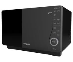 HOTPOINT Ultimate Collection MWH 2621 Solo Microwave - Black Best Price, Cheapest Prices