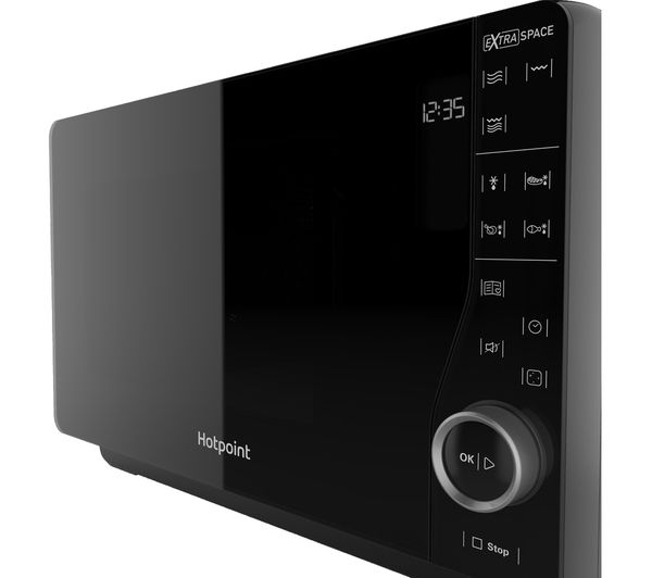 Hotpoint Ultimate Collection Mwh 2621 Solo Microwave Black