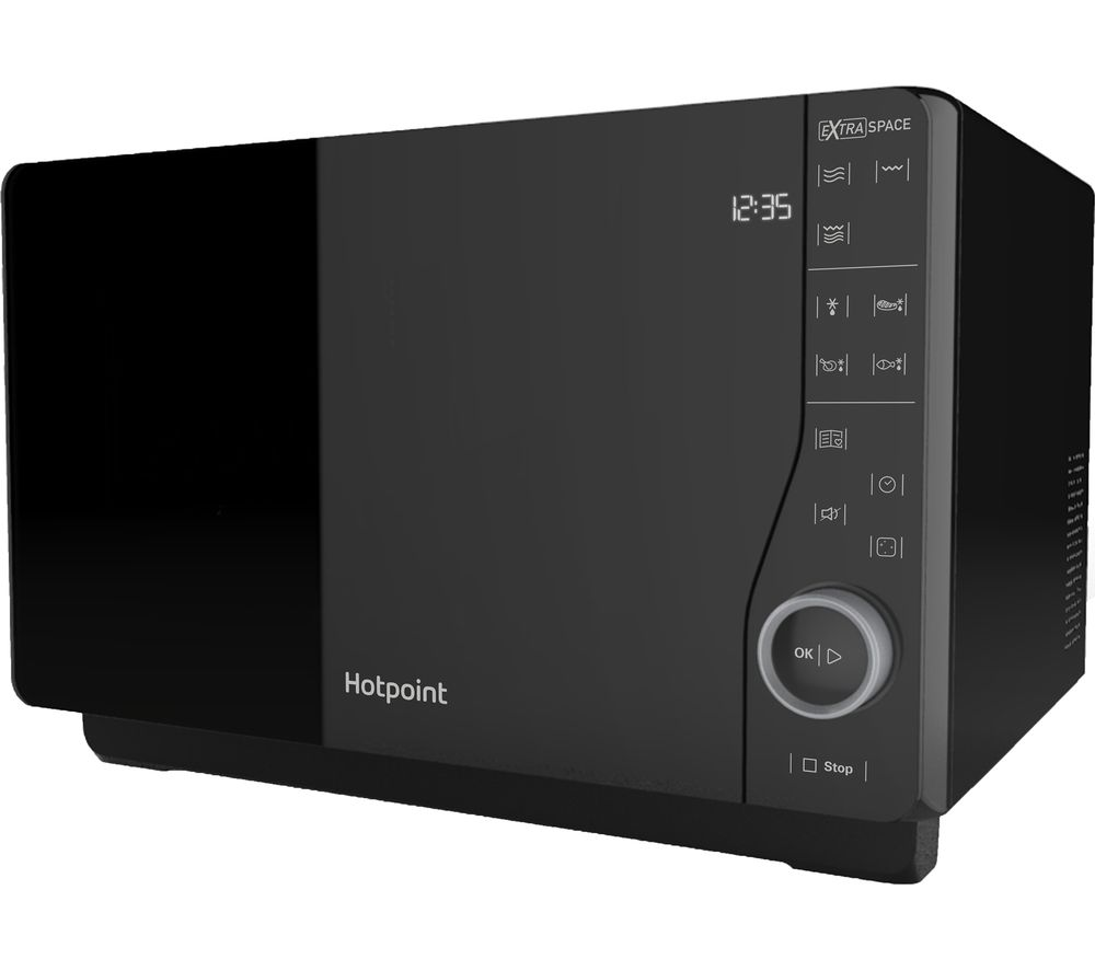 HOTPOINT Ultimate Collection MWH 2621 Solo Microwave - Black