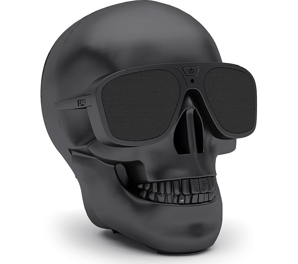 JARRE AeroSkull XS + Portable Wireless Speaker - Matte Black