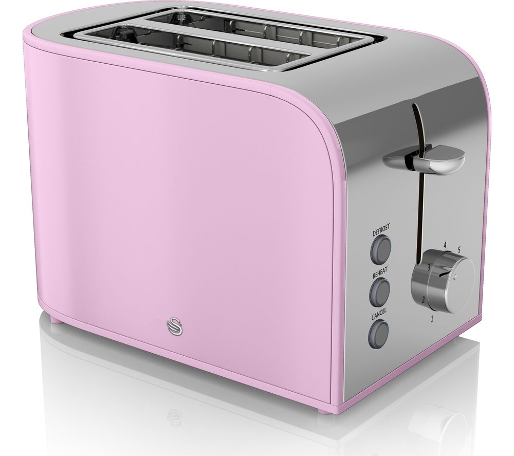 Two Small Appliances ~ Buy swan retro st pn slice toaster pink free