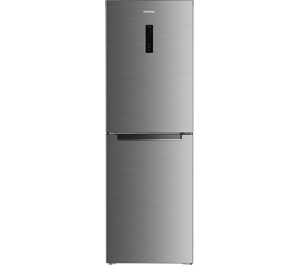 Image of KENWOOD KNF60HX17 50/50 Fridge Freezer - Inox